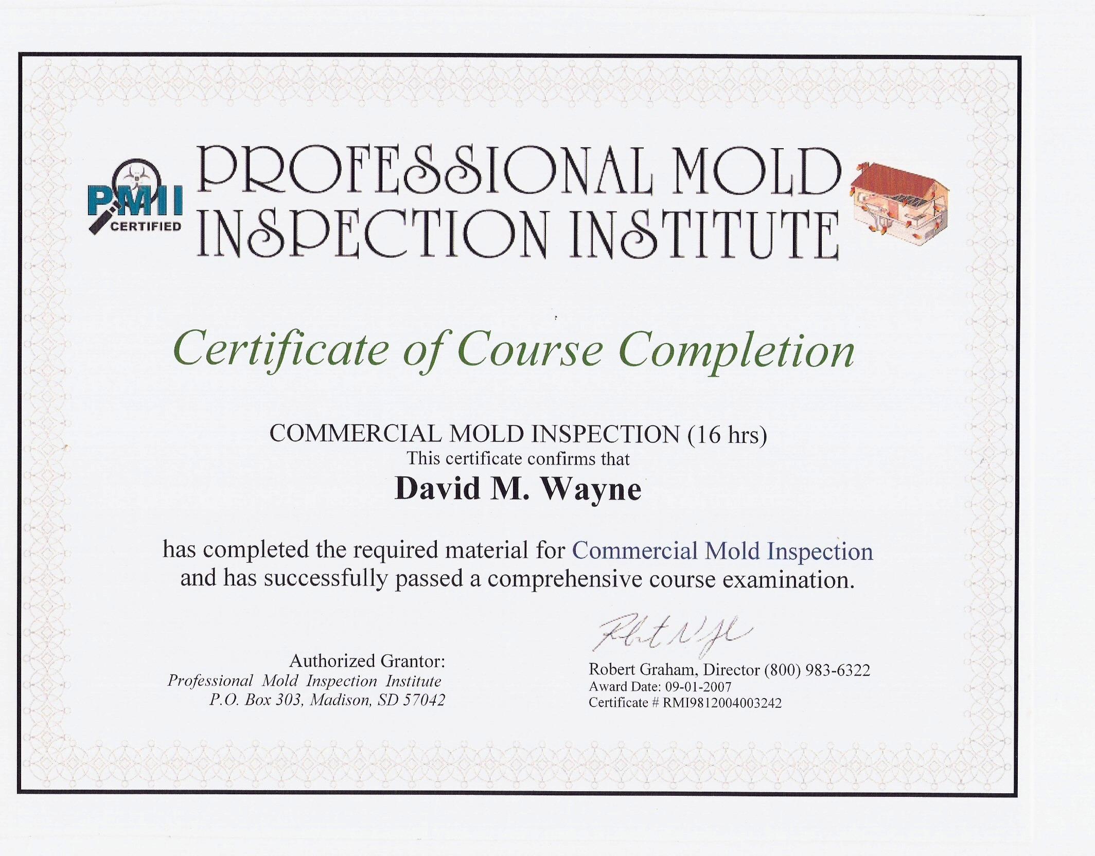 Restoration King Emergency Restoration Specialist - Mold removal invoice