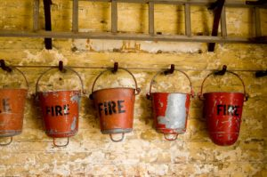 Fire Damage Buckets