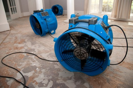 water damage fans