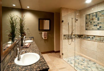 Finished Bathroom Ideas finished bathroom ideas. trendy small basement finishing ideas